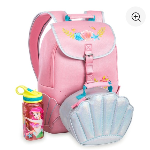 Disney Little Mermaid Backpack Set